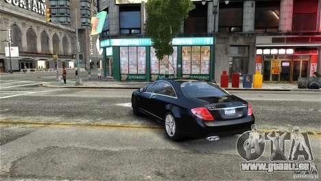 Mercedes-Benz CL65 AMG v1.5 pour GTA 4 est un droit