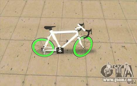 Fixie Bike pour GTA San Andreas laissé vue