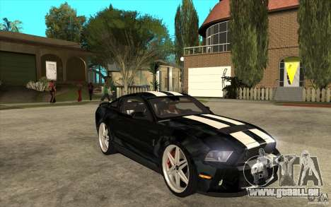 Ford Shelby GT500 pour GTA San Andreas vue arrière