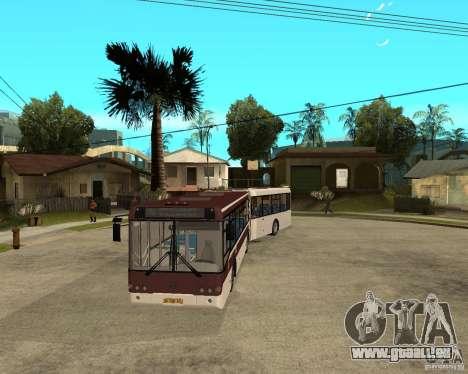 LIAZ 6213.20 pour GTA San Andreas vue arrière