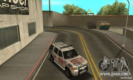 Ford Explorer 2002 für GTA San Andreas