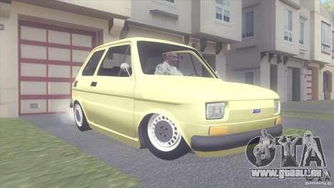 Fiat 126 für GTA San Andreas