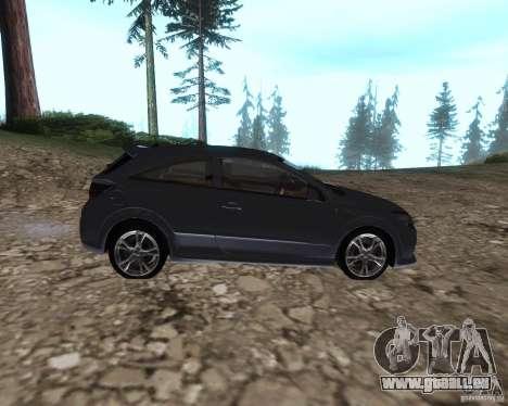 Vauxhall Astra VXR pour GTA San Andreas laissé vue