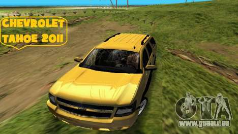 Chevrolet Tahoe 2011 pour GTA Vice City