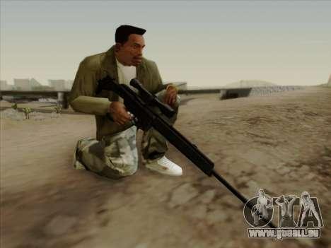HK PSG 1 pour GTA San Andreas troisième écran