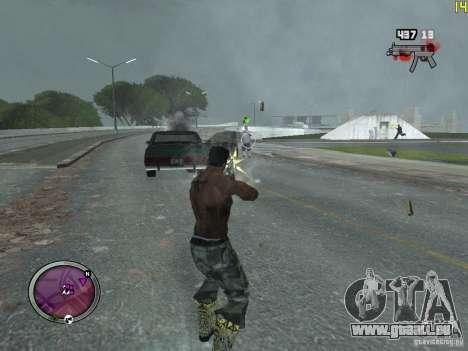 Nouvelle zone GANGSTER pour GTA San Andreas deuxième écran
