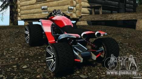 ATV PCJ Sport pour GTA 4 Vue arrière de la gauche