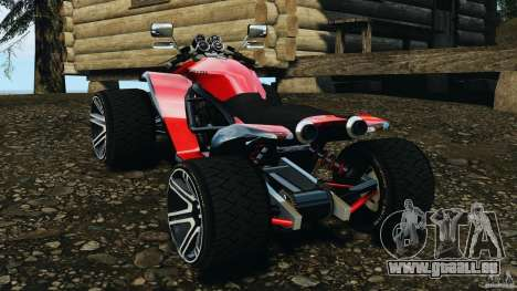 ATV PCJ Sport für GTA 4 hinten links Ansicht