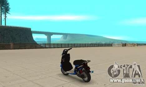 FaggioIV Chnnge General pour GTA San Andreas sur la vue arrière gauche