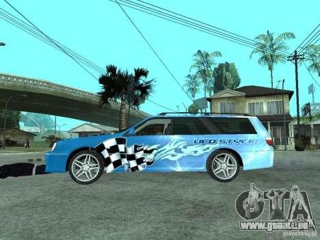Nissan Stagea 25RS four S pour GTA San Andreas laissé vue
