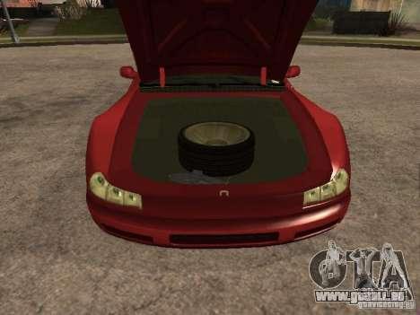 HD Cheetah pour GTA San Andreas vue de droite