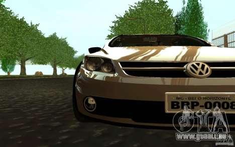 Volkswagen Saveiro pour GTA San Andreas sur la vue arrière gauche