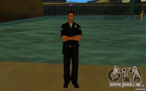 HQ skin lapd1 für GTA San Andreas dritten Screenshot