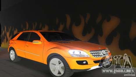 Mercedes-Benz ML 500 pour GTA Vice City sur la vue arrière gauche