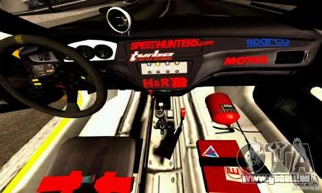 Mitsubishi Lancer Evolution VIII - ProSpeed pour GTA San Andreas vue intérieure
