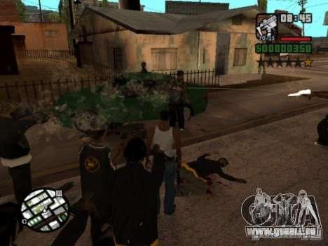 Call of Homies pour GTA San Andreas troisième écran