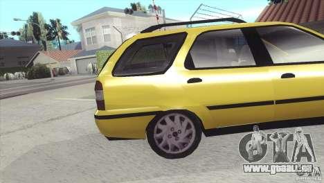 Fiat Palio Weekend 1997 pour GTA San Andreas vue de droite