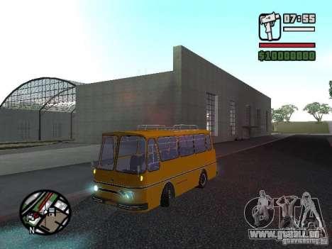 TV 7 für GTA San Andreas Rückansicht
