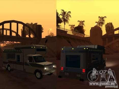 1986 Ford Econoline pour GTA San Andreas vue de côté