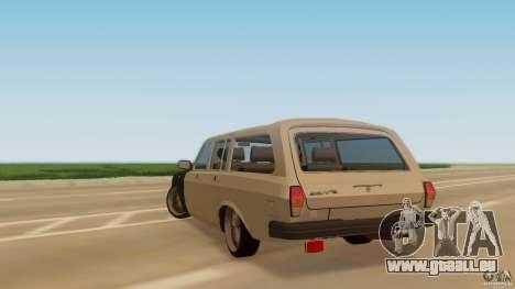 GAZ-310221 601 pour GTA San Andreas laissé vue