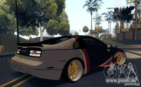 Nissan 300ZX Bad Shark pour GTA San Andreas vue de dessous