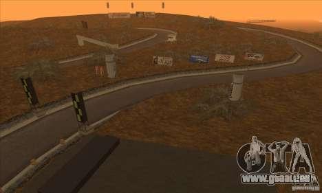 Die Route von NFS Prostreet für GTA San Andreas