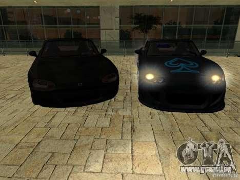 Mazda MX5 Miata pour GTA San Andreas