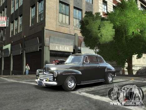 Ford Super Deluxe 1948 für GTA 4 linke Ansicht