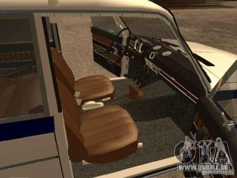 VAZ 2103 Polizei für GTA San Andreas rechten Ansicht