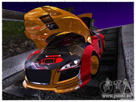 Audi R8 Calibri-Ace für GTA San Andreas rechten Ansicht
