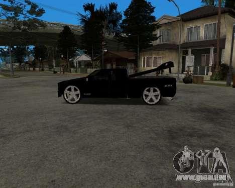 Chevrolet Silverado 1996 Lowrider für GTA San Andreas Rückansicht