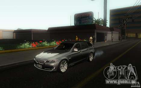 BMW F11 530d Touring pour GTA San Andreas