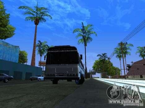 Prison Bus für GTA San Andreas zurück linke Ansicht