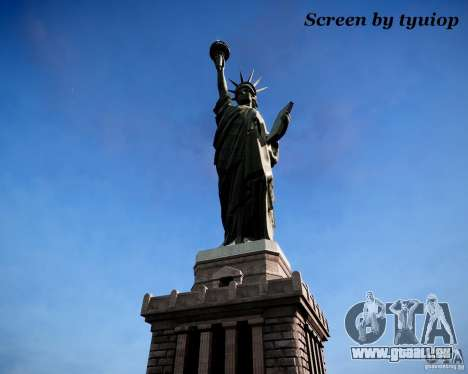New Statue of Liberty pour GTA 4