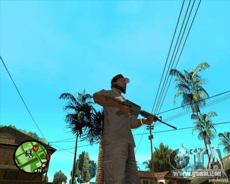 M4 Carbine für GTA San Andreas zweiten Screenshot
