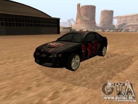 Vauxhall Monaro pour GTA San Andreas vue de côté