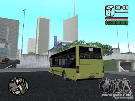 A099 LAZ (SitiLAZ 8) pour GTA San Andreas laissé vue