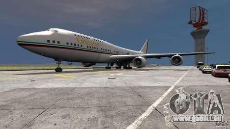Real Emirates Airplane Skins Flagge pour GTA 4