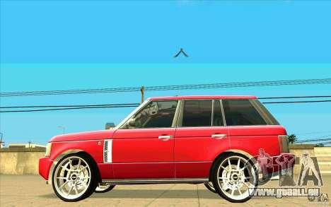 NFS:MW Wheel Pack für GTA San Andreas zwölften Screenshot