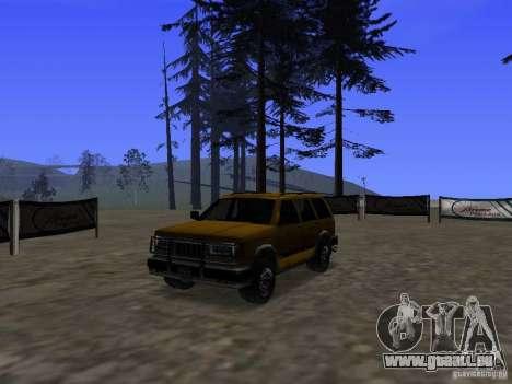 Mountainstalker S pour GTA San Andreas vue intérieure