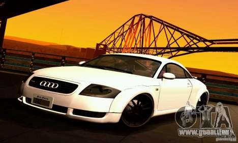 Audi TT Light Tuning für GTA San Andreas