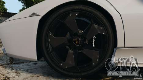 Lamborghini Reventon 2008 v1.0 [EPM] pour GTA 4 vue de dessus