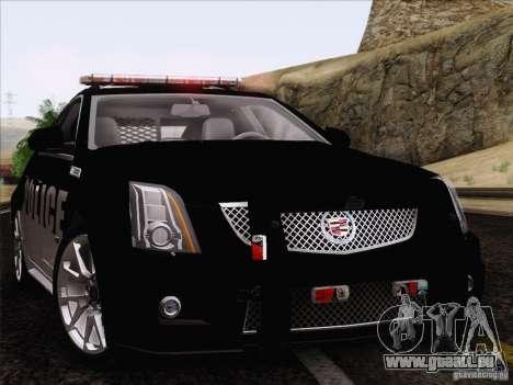 Cadillac CTS-V Police Car pour GTA San Andreas