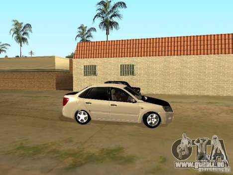 Subvention de Lada pour GTA San Andreas sur la vue arrière gauche
