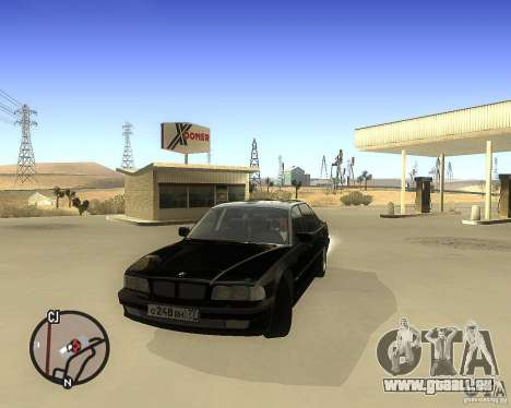 BMW 740il e38 pour GTA San Andreas