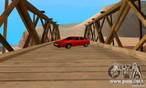 Van LADA priora pour GTA San Andreas vue de droite