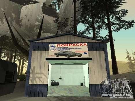 Le Village de Ivanovka pour GTA San Andreas cinquième écran