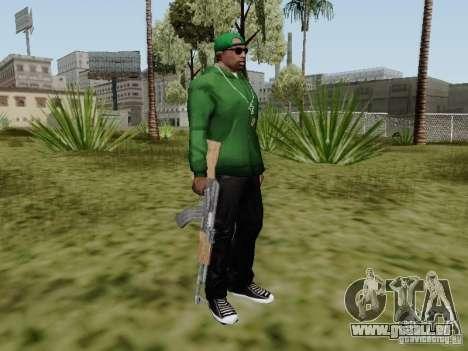 AK-47 de Saints Row 2 pour GTA San Andreas cinquième écran