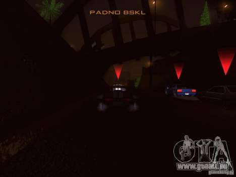 NFS GTA RACE V4.0 pour GTA San Andreas troisième écran