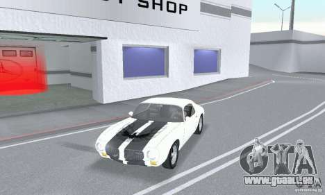 Pontiac Trans Am 1967-1969 pour GTA San Andreas sur la vue arrière gauche
